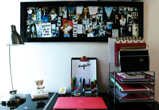 DIY: Decora tu oficina/Tablero inspiracional
