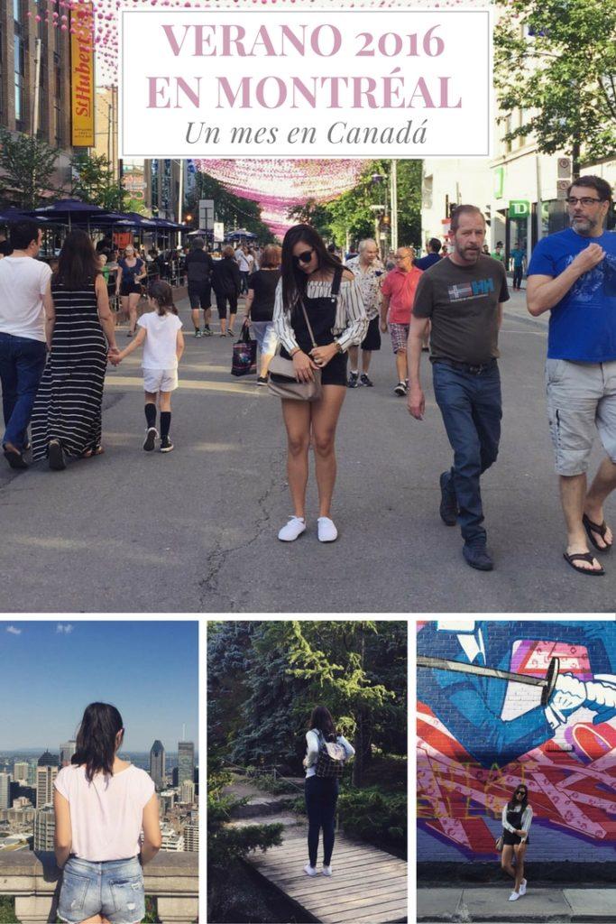 Mi experiencia de estudiar un mes en Montréal, Canadá