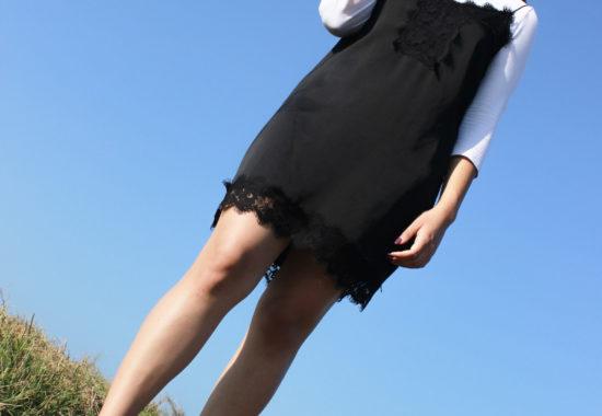 Pretty Little Black Slip Dress