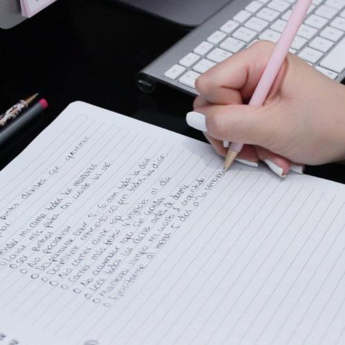 #SEMANADEMETAS Día 2 - ¿Cómo elegir tus metas? DIY: notebook