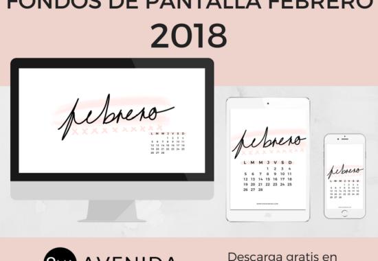 Fondos de pantalla Febrero 2018