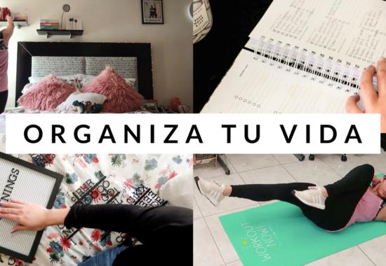 Organiza tu vida para 2018 | #SEMANADEMETAS 2018 Día 1