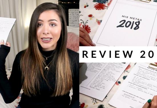 Review 2017 + Temática 2018 | #SEMANADEMETAS Día 2