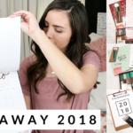 Giveaway Kits de organización 8va Avenida | #SEMANADEMETAS Día 7