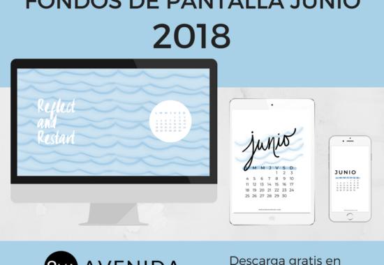 Fondos de pantalla Junio 2018
