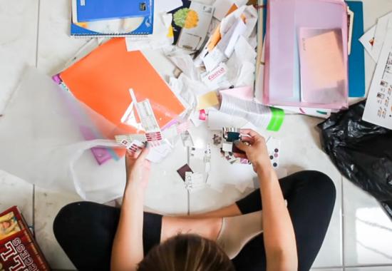 Cómo organizar los papeles | Método KonMari